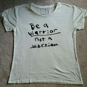 Donald Robertson Tops - RARE Donald Robertson Be a Warrior Tee